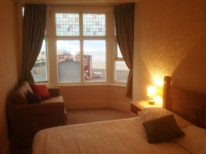 Room 5 is a lovely sea view room on the 2nd floor. A double room with sofa bed