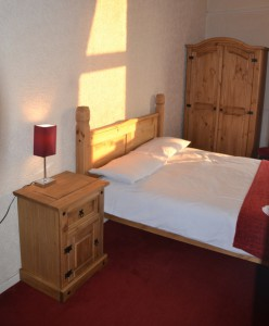 Room 2 is a cosy double room with sea views.